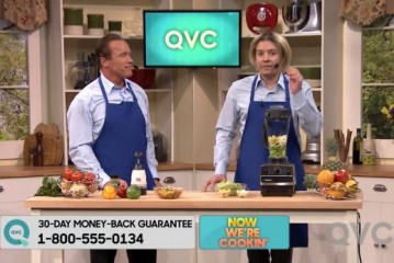 Arnold Schwarzenegger on QVC or The Tonight Show With Jimmy Fallon