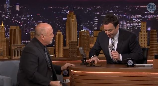 Billy Joel and Jimmy Fallon Form 2 Man Doo Wop Group Using iPad App