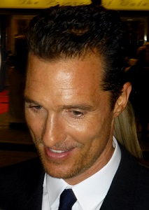 Matthew McConaughey accepts the award for Best Actor for his role in 'Dallas Buyers Club.'