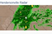 Hendersonville Radar and Weather Forecast March 29 2014