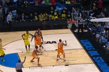 Tennessee Lose a Close Game to Michigan 73 – 71 in The NCAA Tournament