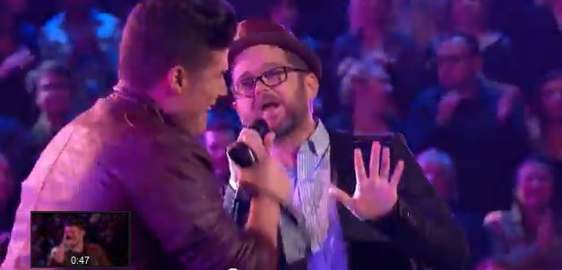 "Did you watch The Voice monday night, Austin Ellis and Josh Kaufman ""Happy"""