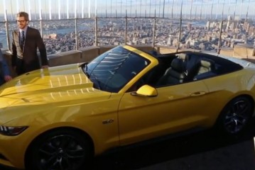 Ford Builds 2015 Mustang On Top Of The Empire State Building