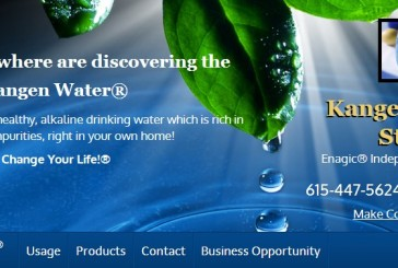 Shout out to Mike with water awareness group Kangen Water Hendersonville TN 37075