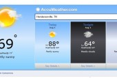 Hendersonville Weather Forecast August 1 2014