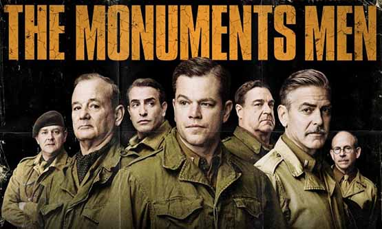 Monuments Men DVD review