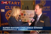 Hendersonville mayor wins Super Bowl challenge