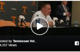 Butch Jones: 'No excuses' for Tennessee Vols football after 41-0 loss to Georgia Bulldogs football