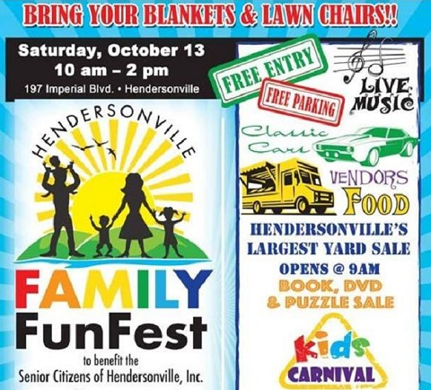Hendersonville Family Funfest Saturday October 13th Bring Your Blankets And Lawn Chairs