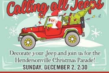 Calling All Jeeps Hendersonville Christmas Parade