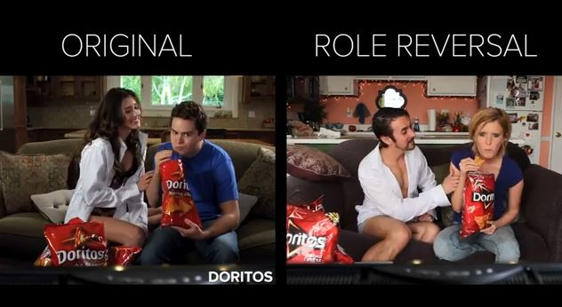 What If Women's Roles In Ads Were Played By Men