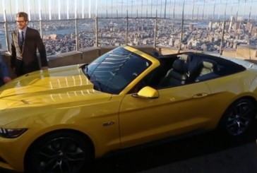 Ford Builds 20https://hendersonvilleonline.com5 Mustang On Top Of The Empire State Building