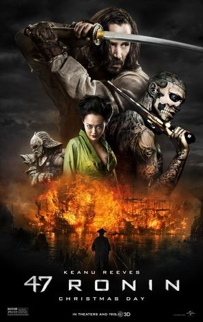 Keanu Reeves in 47 Ronin, Movie Review – Dvd Released April 1 2014