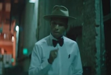 Pharrell Williams, Happy No 1 this week on The Billboard Hot 100