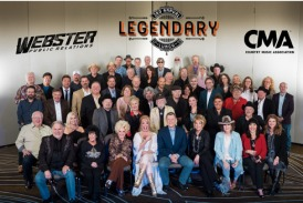 Country Radio Seminar's 'Lunch With Legends' Brings Programmers & Hall of Famers Together